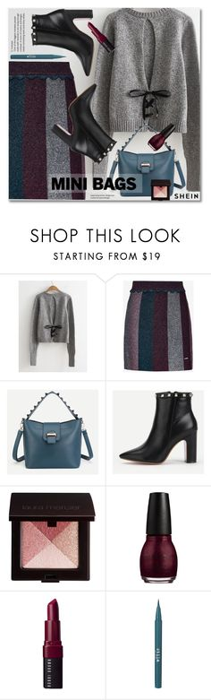"""""""So Cute: Mini Bags"""" by svijetlana ❤ liked on Polyvore featuring Ted Baker, Laura Mercier, Bobbi Brown Cosmetics, Stila, minibags and shein"""