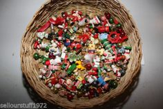 Lot of over 120 Miniature Christmas Ornaments