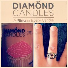 Love the smell of cupcakes, and love this ring. Beautiful :)