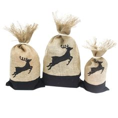 Danish Pouch Set ... sdded now. Check it out here http://emmazing.uk/products/danish-pouch-set-of-3-black-reindeer?utm_campaign=social_autopilot&utm_source=pin&utm_medium=pin  #homedecor #decor