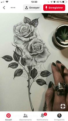 Want a rose tattoo so bad! - Want a rose tattoo so bad! You are in the right place about tattoo fonts Here we offer you the most - Band Tattoos, Neck Tattoos, Wrist Tattoos, Girl Tattoos, Tattoos For Guys, Tattoo Girls, Tattoos For Women, Tattoo Forearm, Foot Tattoos