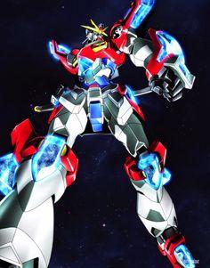 Gundam Build Fighters Try - Episode Poster Style Images Kamiki Burning Gundam Gundam Toys, Gundam Art, Anime Guys Shirtless, Hot Anime Guys, Anime Boys, Robot Concept Art, Robot Art, Robots, Gundam Build Fighters Try
