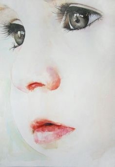 Beautiful watercolor. Not sure of the artist. My new goal...... so wanting to be…