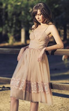 gorgeous vintage inspired lace dress