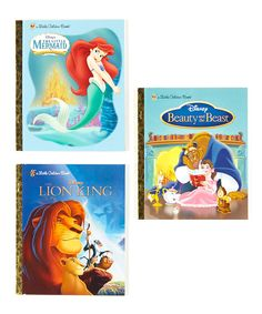 Take a look at this The Lion King Hardcover Set on zulily today!