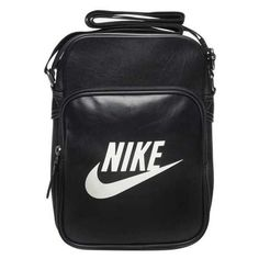 Nike Heritage Small Items Bag ($29) ❤ liked on Polyvore featuring bags, handbags, shoulder bags, accessories, fillers, strap purse, nike, nike purse, shoulder strap bag and nike handbags