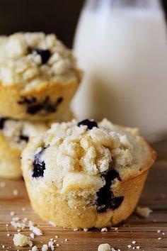 Blueberry Pie Muffins!
