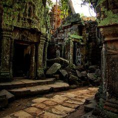 Ta Prohm, Angkor, Cambodia.