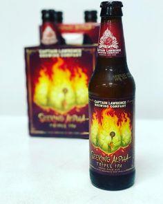 Captain Lawrence Brewing Company's Seeking Alpha Triple IPA is here! #CaptainLawrence #SeekingAlpha #IPA #Beer