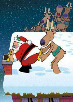 Santa vs Chimney