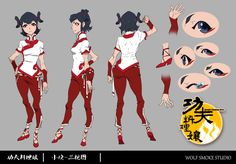 ca-tsuka:  Wolf Smoke Studio is making a TV series based on their Kung Fu Cooking Girls short-film.