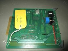 NEW CONTROLOTRON BOARD PC CARD 484-8-4 6/22, NOS MINT & READY TO WORK  #CONTROLOTRON