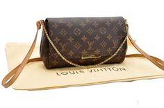 Louis Vuitton   Authentic Louis Vuitton Monogram Favorite Mm Shoulder Bag Pouch M40718 Tt182