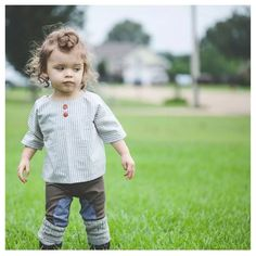 Button smock top + riding leggings | carlymegan
