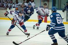 Me playing hockey