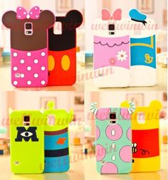 Cute 3D Disney Minnie Soft Silicone Back Case Cover For Samsung Galaxy S5 i9600 #UnbrandedGeneric