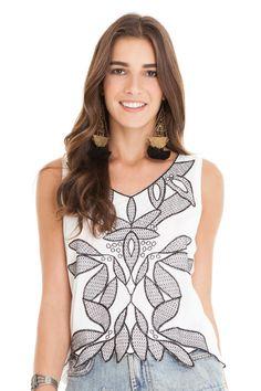 Blusa bordada | Dress to