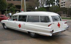 1961 Cadillac Miller-Meteor ambulance