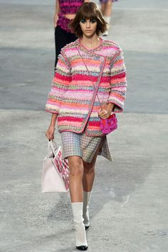 Chanel: Spring-Summer 2014 / Fashion blog / Fashion / Glamour Magazine Women. Here's an update on your old chenille bedspread from the 70s!