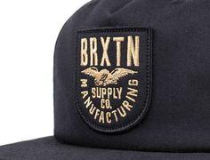 Alliance Black Snapback Cap by BRIXTON