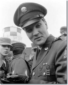 Elvis Presley At Fort Dix - March 3, 1960
