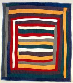 Quilts of Gee's Bend at the Elizabeth Leach Gallery: photo by Amy at Angry Chicken Antique Quilts, Vintage Quilts, Quilting Projects, Quilting Designs, Quilt Design, Gees Bend Quilts, Art Tribal, American Quilt, Log Cabin Quilts