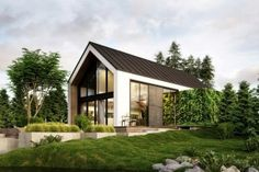 The idyllic 'cabin in the woods'