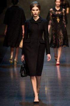 Dolce and Gabbana Fall 2013 RTW collection