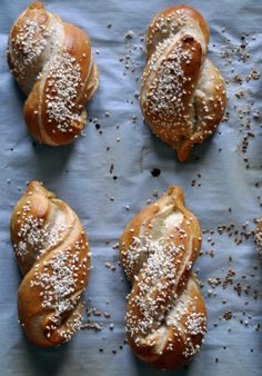 On Fear and Sesame Salt Pretzel Twists | Turntable Kitchen