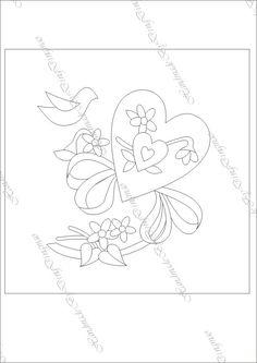 [转载]心心被 Cute Embroidery Patterns, Embroidery Hearts, Embroidery Works, Embroidery Motifs, Vintage Embroidery, Embroidery Designs, Quilted Gifts, Shabby Fabrics, Quilt Block Patterns