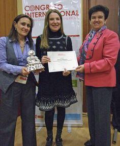 Carmen Mª García y Pilar Gómez Acebo ya lideraban un Congreso Internacional de Mujeres Directivas años antes de nacer MADRID WOMAN'S WEEK, y que promovían Foro ECOFIN y Global Estrategias. En el centro de la foto también aparece la diseñadora Sara Navarro, luego integrada en el Consejo Asesor de MWW, y entonces, ponente.