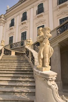 Hungarian Castle Staircase by Steve Vereb Photography, via Flickr Beautiful World, Beautiful Places, Stair Steps, Royal Palace, Nightingale, Eastern Europe, Staircases, Budapest, Countryside