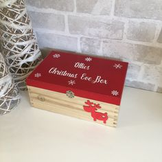 In this DIY tutorial, we will show you how to make Christmas decorations for your home. The video consists of 23 Christmas craft ideas. Diy Christmas Eve Box, Xmas Eve Boxes, Personalised Christmas Eve Box, Christmas Vinyl, Christmas Gift Decorations, Christmas Makes, Handmade Christmas, Christmas Holidays, Christmas Crafts