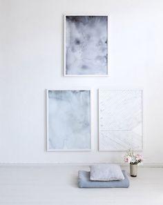 Silke Bonde limited edition art print - Forest Floor