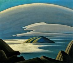 Lawren Harris, Lake Superior Island, 1923. Oil/canvas, 74.2 x 89 cm. McMichael Canadian Art Collection, Kleinburg.