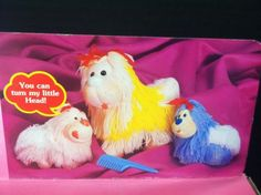 Vintage 1980's Li'L Shaggy Doggy Mommy with My Pups Pets by M Toys New in Box | eBay