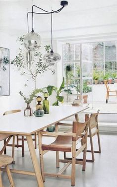 Chic dining room #3