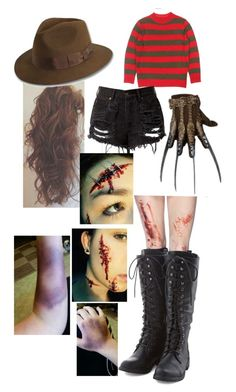 A fashion look from May 2015 featuring red sweater, short shorts and zombie costume. Browse and shop related looks. Halloween Photos, Halloween 2016, Spirit Halloween, Halloween Outfits, Halloween Ideas, Halloween Costumes, Girl Photo Shoots, Cosplay Outfits, Honey