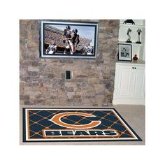 FANMATS NFL - Chicago Bears 4x6 Rug Rug Size: 5' x 8'