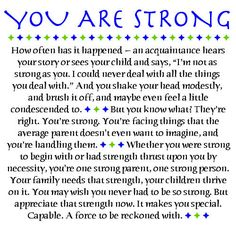Multiple Sclerosis...parents with MS...you are amazing, and you are strong.