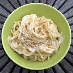 In Erika's Kitchen: Meyer lemon spaghetti with goat cheese