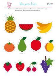Ma petite dinette : les fruits