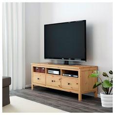 HEMNES tv sehpası açık kahverengi 149x47 cm | IKEA TV-Dolap Sistemleri