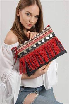 Woman & Woman's media content and analytics Handmade Fabric Bags, Handmade Clutch, Diy Clutch, Clutch Bag, Ethnic Bag, Embroidery Bags, Jute Bags, Boho Bags, Crochet Fashion