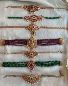 Antique Jewellery Designs, Fancy Jewellery, Gold Jewellery Design, Gold Jewelry, Gold Chain Design, Bridal Jewellery, Antique Jewelry, Jewelery, Pearl Necklace Designs