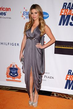 Amber Lancaster at 18th Annual Race to Erase MS Fundraising Gala.  I love her for this because my daughter, Kim, has MS.