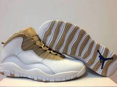 official photos 64f1f 5ce0c Legit Cheap Air Jordan 10 X OVO White Metallic Gold For Sale Cheap Jordan  Shoes,