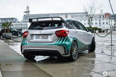Mercedes-AMG A 45 Petronas 2015 World Champions Edition in Düsseldorf, Germany Spotted on by DutchStylez A45 Amg, Amg Car, Amg Petronas, Car Hacks, Car Tuning, Car Wrap, Mercedes Amg, Offroad, Dream Cars