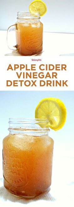The benefits of drinking just one glass a day of this Apple Cider Detox Drink include accelerated metabolism, clearer skin, reduced levels of acidity, and a detoxified digestive tract. With a list of (Recipes To Try Detox Waters) Vinegar Detox Drink, Apple Cider Vinegar Detox, Water Recipes, Detox Recipes, Juice Recipes, Drink Recipes, Healthy Detox, Healthy Drinks, Diet Detox