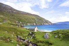 Keem Beach on Achill Island, County Mayo, Ireland Peace On Earth by Charlie and Norma Brock #keembeach #ireland